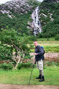 Picture of Armin in Glen Nevis