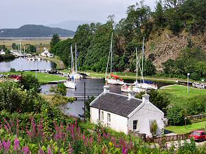 Picture of the Crinan Canal