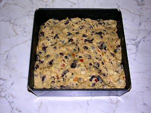 Picture of the Bremer Klaben before going into the oven