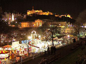 Picture of Christmas in Edinburgh
