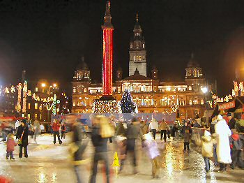 Picture of Glasgow on Ice