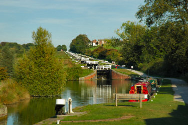 Picture of Caen Hill Locks