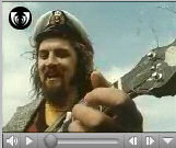 Screenshot of a video clip with Billy Connolly