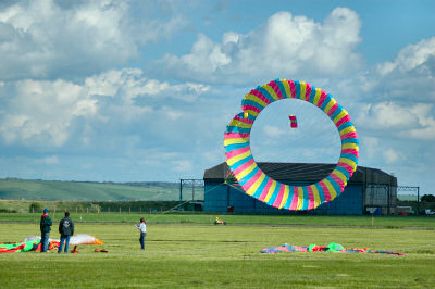 Picture of a round kite