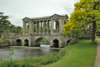 Picture of the Palladian Bridge at Wilton House