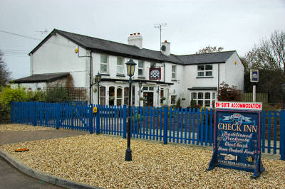Picture of the Check Inn pub in Wroughton